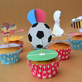 picture of a few cupcake toppers
